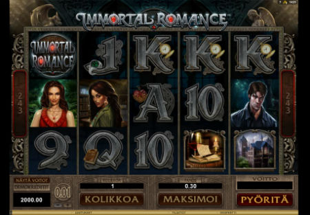 Immortal Romance peli