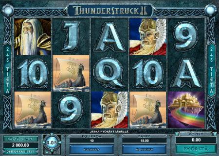 Thunder Struck II peli