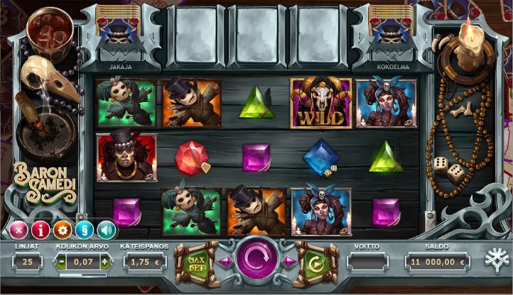 AHTI Games Baron Samedi